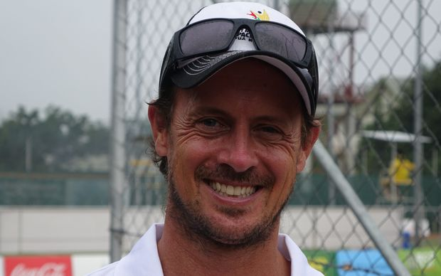 ITF Tennis Development Officer for Pacific Oceania, Darran Wrighton.