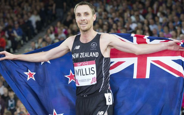 The New Zealand runner Nick Willis.