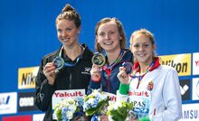 Lauren Boyle silver medalist in the 1500m at the 2015 World Swim Championships.