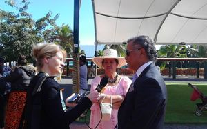 Radio New Zealand International's Sally Round interviews the Cook Islands Prime Minister Henry Puna in Rarotonga for te maeva nui 2015