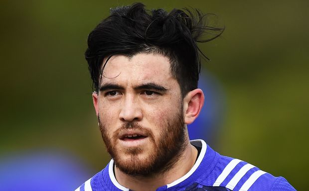The Hurricanes wing Nehe Milner-Skudder, who will make his All Blacks debut this weekend.