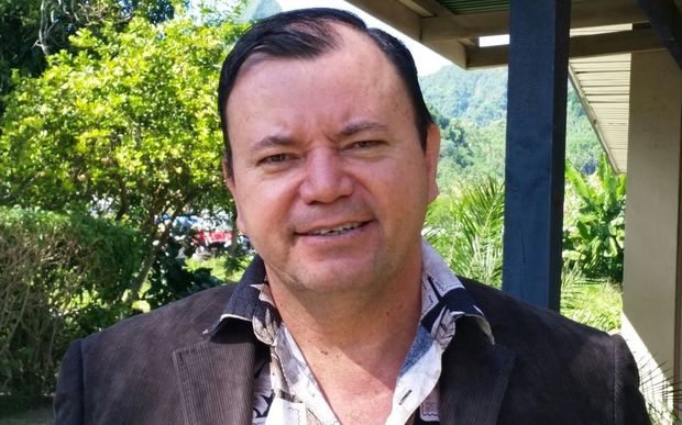 Cook Islands Democratic Party member James Beer.