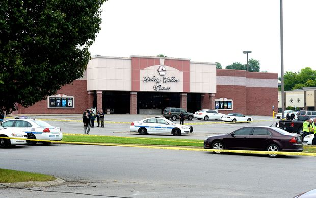 The Nashville cinema where a gunman attacked members of the audience before being shot dead.