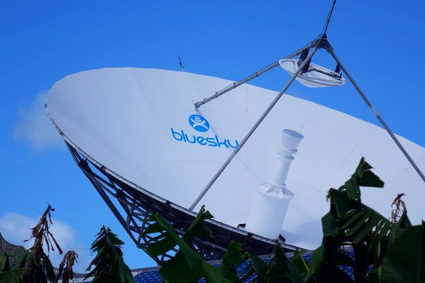 Telecommunications company Bluesky