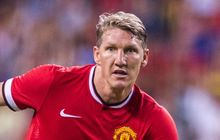 Manchester United's Bastian Schweinsteiger in action.