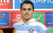 Juan Imhoff of Argentina was man of the match during the Rugby Championship match between Springboks v Argentina in Durban, 2015.