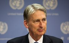 British foreign secretary, Philip Hammond.
