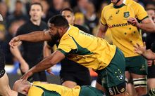 Wallabies prop Scott Sio