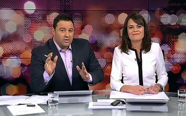 Duncan Garner and Heather du Plessis-Allan