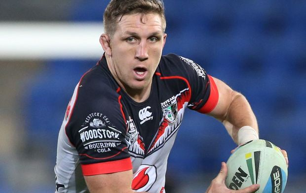 Ryan Hoffman will be crucial to the Warriors' efforts to make the NRL playoffs.