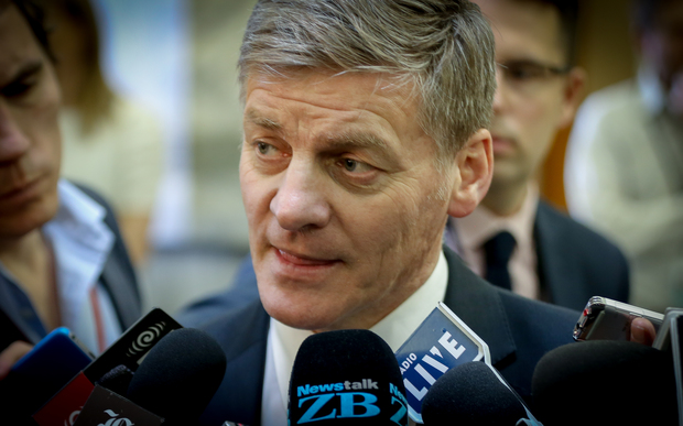 Bill English talking on Solid Energy.