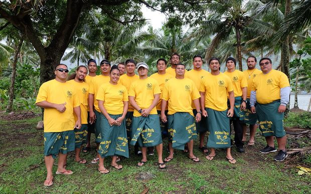 The National Park of American Samoa fire crew that is heading to California