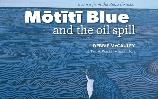 Motiti Blue and the Oil Spill won the best non-fiction title for children at the 2015 NZ Book Awards.