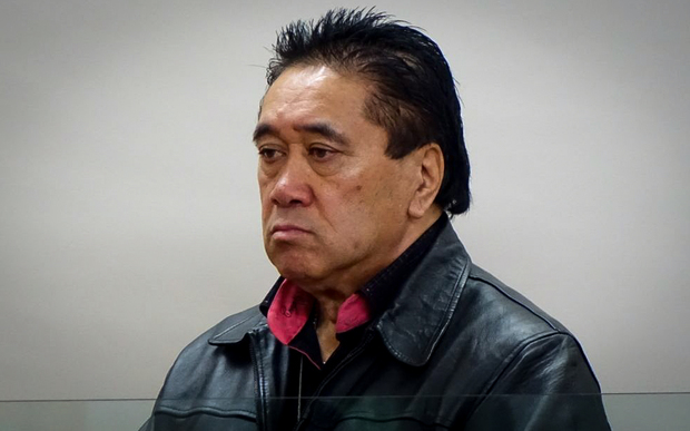 Sonny Tau in the dock at the Invercargill District Court.
