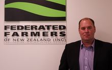 Federated Farmers dairy industry chair Andrew Hoggard