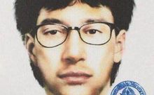 This image released by the Royal Thai Police shows the photofit of a man suspected to be the Bangkok bomber.