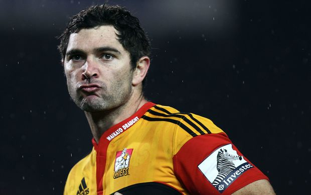 Stephen Donald on Chiefs duty back in 2011