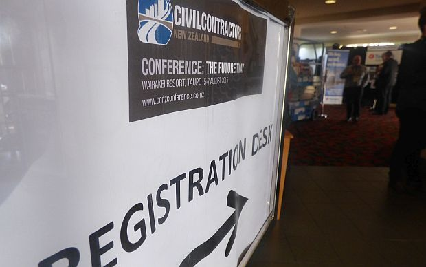 Sign to conference