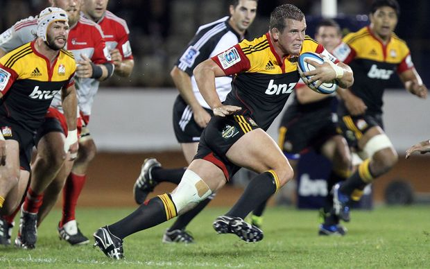 Toby Smith in action for the Chiefs