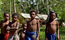Children in Papua New Guinea