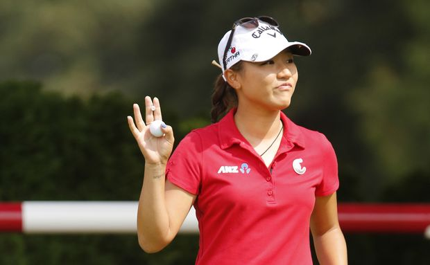 Lydia Ko at the Canadian Open 2015.