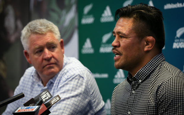 Keven Mealamu announcing his retirement at the end of the 2015 season.