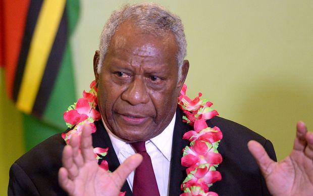 Vanuatu President, Baldwin Lonsdale.