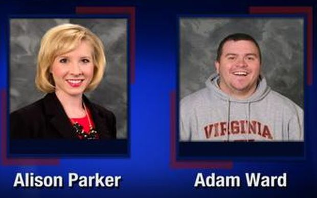 WDBJ7 TV reporter Alison Parker and cameraman Adam Ward.