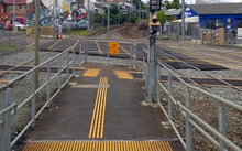 The ramp at Morningside station.