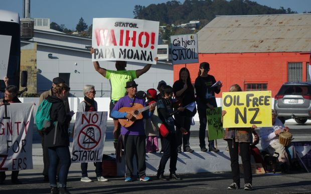 Deep sea oil drilling protest in northland radio new for Northland motor oils lubricants