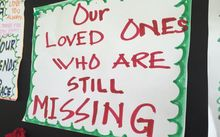 Message board for families and wantoks of missing people in Bougainville.