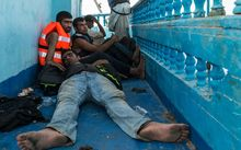 Thousands of migrants have died trying to reach Europe by boat this year.