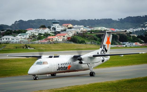 The Jetstar Q300 turbo-prop aircraft which will fly the regional routes.