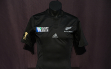 All Blacks 2015 Rugby World Cup jersey.
