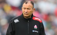 Japan rugby coach Eddie Jones