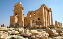 The 2,000-year-old Temple of Bel.