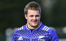 The All Blacks flanker Sam Cane.