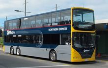 One of the new double decker buses