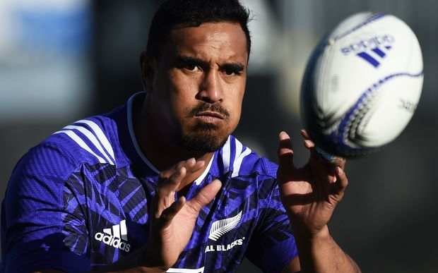 All Black flanker Jerome Kaino.