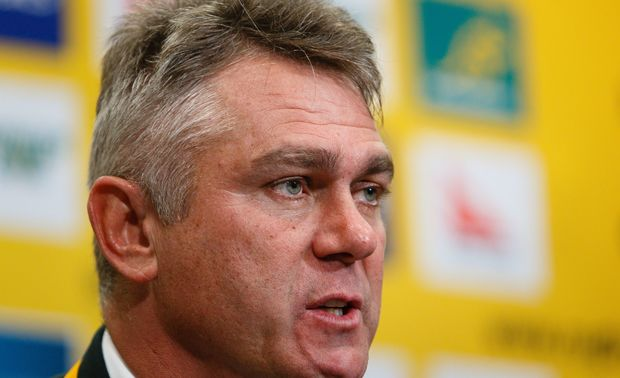 Springbok coach Heyneke Meyer has been criticised over the racial make up of his World Cup squad.
