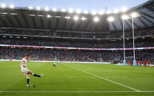 Twickenham is the home ground of English rugby.
