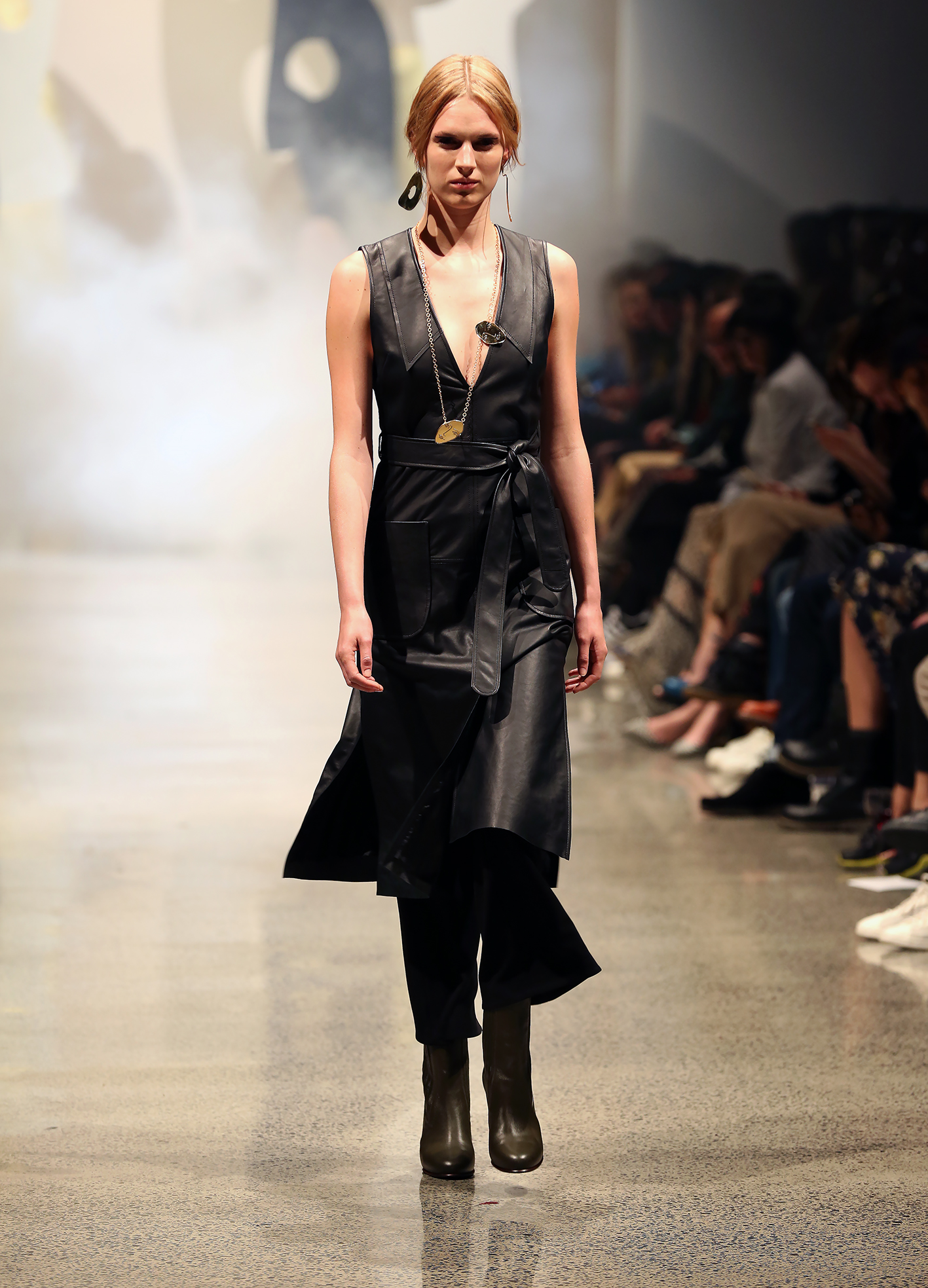 bc89bc2023a965 Streamlined layering at Kate Sylvester AW 16. (PHOTO: Diego Opatowski /  RNZ.)