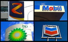 Z, Mobil, bp and Chevron