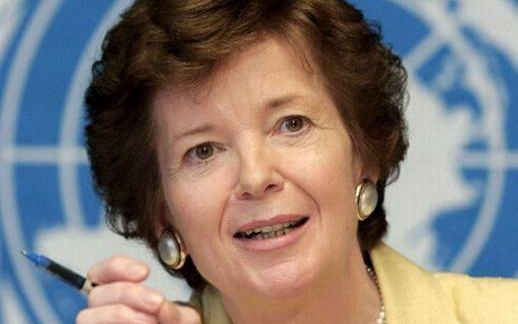 The United Nations Special Envoy for Climate Change, Mary Robinson.