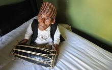 The world's smallest man, Chandra Bahadur Dangi, died at American Samoa's LBJ Hospital on Friday.