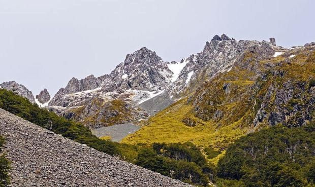 Mt Angelus in Nelson Lakes National Park.