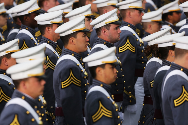 West Point is a publicly funded academy, where many of the US Army's top leaders are trained.