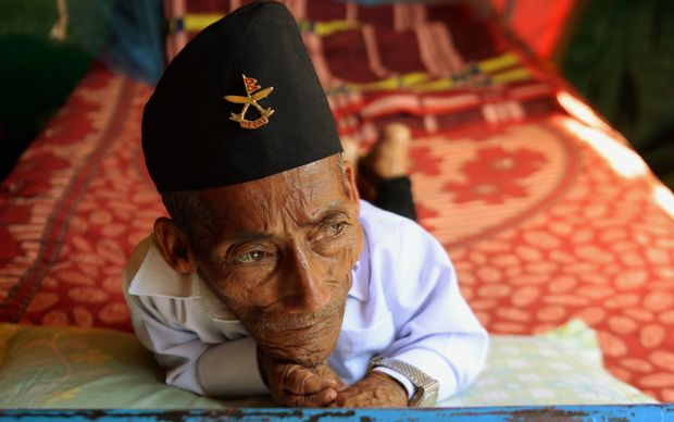 The world's smallest man Chandra Bahadur Dangi, died in American Samoa September 2015