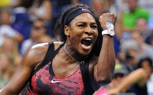 The tennis world number one Serena Williams.