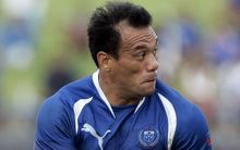 Manu Samoa sevens assistant coach Muliagatele Brian Lima during his playing days.